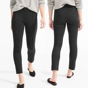 Everlane Grey Stretch Ponte Crop Skinny Pant